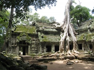 oude cultuur in Angkor Cambodja