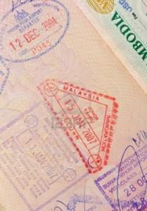 een visum uit cambodja